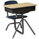 Universal School Desks by Wisconsin Bench