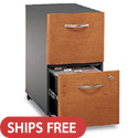 Series C Office Mobile Files by Bush Industries