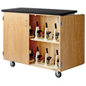 Mobile Microscope Storage Cabinet by Diversified