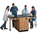 Click here for more Double Face Science Service Island by Diversified Woodcrafts by Worthington