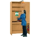 Click here for more Complete Science Safety Station by Diversified Woodcrafts by Worthington