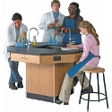 Click here for more Octagon Workstation by Diversified Woodcrafts by Worthington