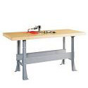 Workbench w/ Steel Base by Diversified Woodcrafts