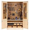 Click here for more Tool Storage Cabinet by Diversified Woodcrafts by Worthington