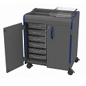 Click here for more Makerspace Mobile Storage Carts by Marco Group by Worthington