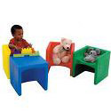 Click here for more Chair³ and Bench by the Children's Factory by Worthington