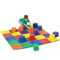 Matching Mat and Block Sets by the Children's Factory