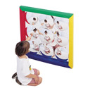 Click here for more Soft Frame Bubble Mirror by the Children's Factory by Worthington