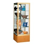 Keepsake 4024 Series Tower Display Cases by Waddell