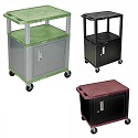 Click here for more Color Tuffy Carts with Cabinet by Luxor by Worthington