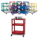 Color Metal Utility Carts by Luxor