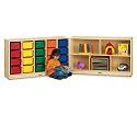 Click here for more E-Z Glide Fold-n-Lock - 20 Cubbies by Jonti-Craft by Worthington