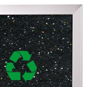 ReTire Recycled Rubber Tackboard by Best-Rite