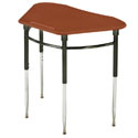 4600 and 4900  Kaleidoscope Trapezoid Student Desk by Scholar Craft