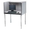 "Click here for more 30"" Deep Computer Carrel by Smith Carrel by Worthington"