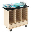 Click here for more Open Tote Storage Cabinet by Diversified Woodcrafts by Worthington
