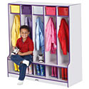 Click here for more Rainbow Accents Coat Lockers by Jonti-Craft by Worthington