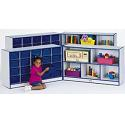 Rainbow Accents Mobile Cubbie Storage Combo Units by Jonti-Craft