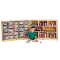 Click here for more E-Z Glide Fold-n-Lock -25 Cubbies by Jonti-Craft by Worthington