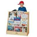Pick-A-Book Stand Flush Back by Jonti-Craft
