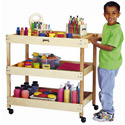 Click here for more Wooden Utility Cart by Jonti-Craft by Worthington