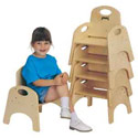 Chairries Stackable Chairs by Jonti-Craft