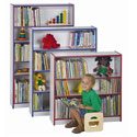 Rainbow Accents Bookcases by Jonti-Craft