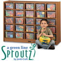 Sproutz Tray Mobile Cubbies by Jonti-Craft
