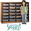 Sproutz 24 Tray Paper Cubbie by Jonti-Craft