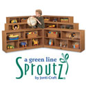 Sproutz Fold-n-Lock Mobile Storage Units by Jonti-Craft