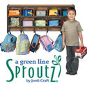 Sproutz Wall Mounted Coat Locker by Jonti-Craft
