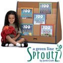 Sproutz Pick-a-Book Stands by Jonti-Craft