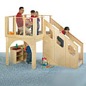 Tots Play Loft by Jonti-Craft