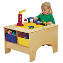 Building Table with Lego or Duplo Compatible Top by Jonti-Craft