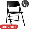Commercial Grade Steel Folding Chairs by Samsonite