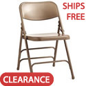 Click here for more Commercial Grade Steel Folding Chairs by Samsonite by Worthington
