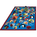 Click here for more Joyful Faces Carpet by Joy Carpets by Worthington