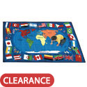 Click here for more Flags of the World Carpet by Joy Carpets by Worthington