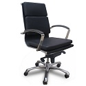 Click here for more Knee Tilt Leather Conference Chair by NDI Office Furniture by Worthington