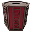 Click here for more Huntington Outdoor Trash Receptacle by UltraPlay by Worthington
