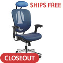 Click here for more Zurich Mesh Office Chair by Samsonite by Worthington