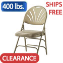 Click here for more XL Series Fanback Vinyl Padded Steel Folding Chairs by Samsonite by Worthington