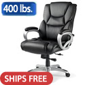 Click here for more Hamburg Big & Tall Leather Office Chair by Samsonite by Worthington