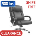 San Mateo Big & Tall Leather Office Chair by Samsonite