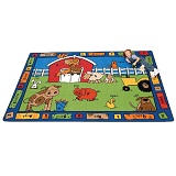 Alphabet Farm Carpet by Carpets for Kids