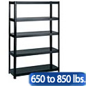 Boltless Steel Shelving by Safco Products