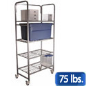 Mobile Wire Storage Rack by Sandusky Buddy