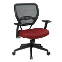 Professional Dark AirGrid Back Managers Chair by Office Star