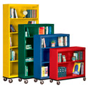 Click here for more Mobile Metal Bookcases by Sandusky Lee by Worthington