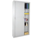 Click here for more Tall Sliding Door Storage Cabinet by Sandusky Lee by Worthington
